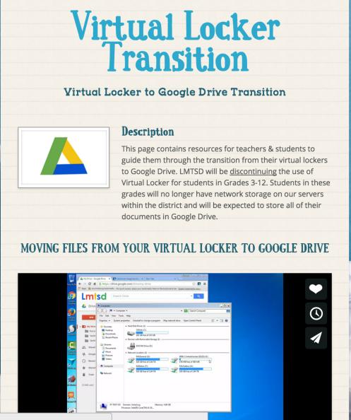 Google Drive – LMTSD INSTRUCTIONAL TECHNOLOGY HUB